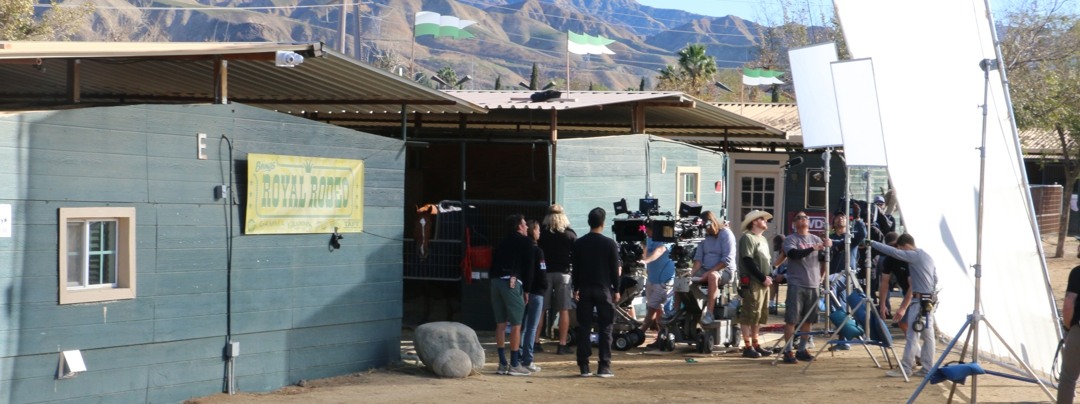 filming-in-Lisa-Stroways-barn